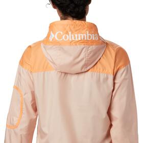 Columbia Challenger Veste coupe-vent Femme, peach cloud/nocturnal/white